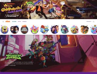 tmntfanclub.com screenshot