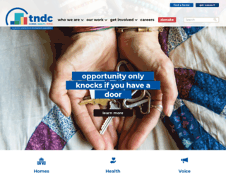tndc.org screenshot