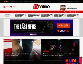 tnonline.com.br screenshot