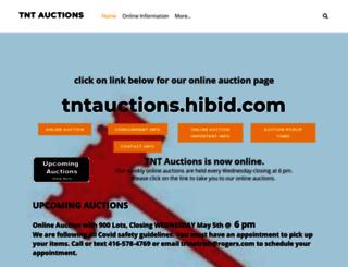 tntauctionssnelgrove.com screenshot