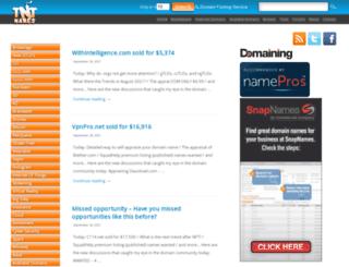 tntnames.com screenshot