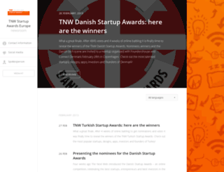 tnw-startup-awards-europe.pr.co screenshot