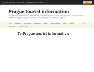 to-prague.eu screenshot
