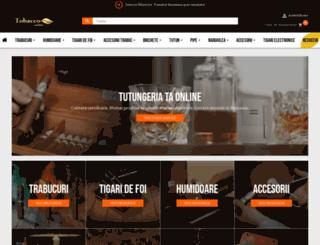 tobacco-online.ro screenshot
