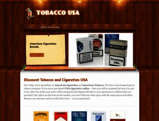 tobacco-usa.weebly.com screenshot