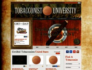 tobacconistuniversity.org screenshot
