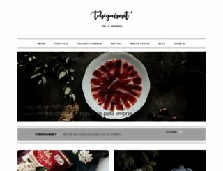 tobegourmet.com screenshot