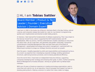 tobiassattler.com screenshot