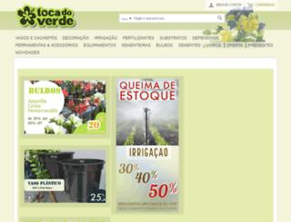 tocadoverde.com.br screenshot