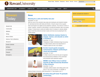 today.rowan.edu screenshot