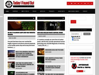 todayifoundout.com screenshot