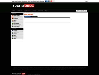 todayodds.com screenshot