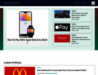 todaysiphone.com screenshot