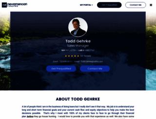 toddgehrke.com screenshot