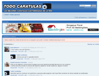 todocaratulas.net screenshot