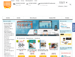 toeicbookstore.com screenshot