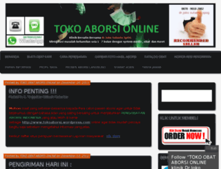 tokoaborsi.wordpress.com screenshot