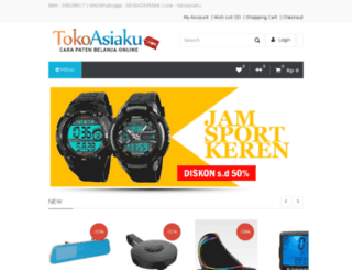 tokoasiaku.com screenshot