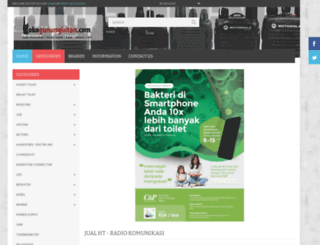 tokogunungintan.com screenshot