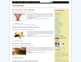 tokoklinkonline.blogspot.com screenshot