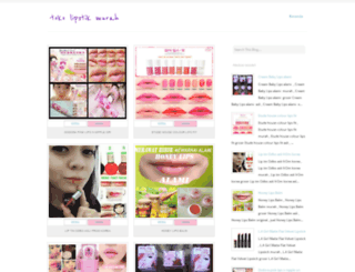tokolipstickmurah.blogspot.co.id screenshot