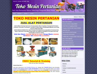tokomesinpertanian.com screenshot