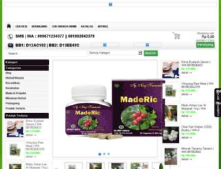 tokoobatherbalalami.com screenshot