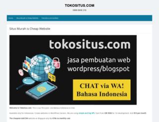 tokositus.com screenshot