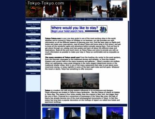 tokyo-tokyo.com screenshot