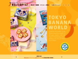 tokyobanana.jp screenshot