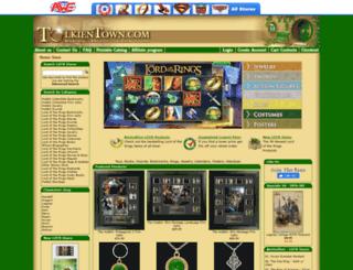 tolkientown.com screenshot