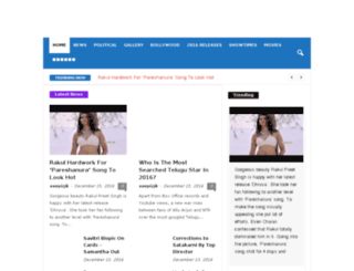 tollywoodbackstage.com screenshot