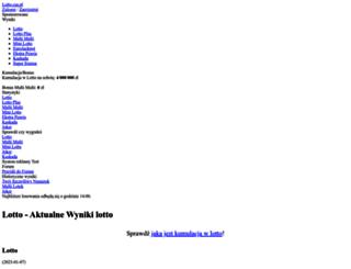 tolotto.pl screenshot