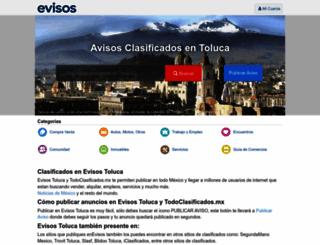 toluca.evisos.com.mx screenshot