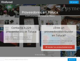 toluca.infored.com.mx screenshot