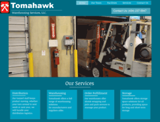 tomahawkllc.com screenshot