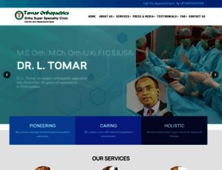 tomarorthopaedics.com screenshot