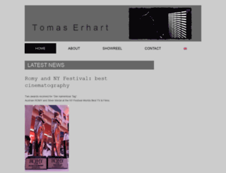 tomaserhart.com screenshot