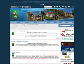 tomaszow-lubelski.pl screenshot