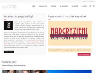 tomaszpluszczyk.pl screenshot