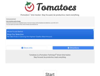 tomato.es screenshot