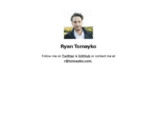 tomayko.com screenshot