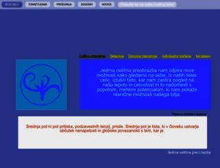 tomazflegar.si screenshot