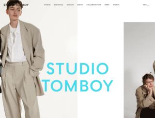 tomboy.co.kr screenshot