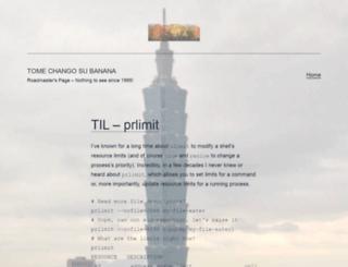 tomechangosubanana.com screenshot