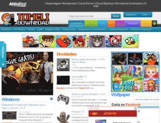 tomelidownload.com.br screenshot