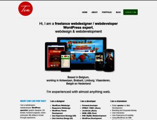 tomhermans.com screenshot