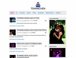 tominchen.de screenshot