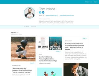 tomireland.contently.com screenshot