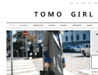 tomogirl.co.kr screenshot